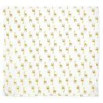 Mušelínová přikrývka pro miminka a děti – Žirafa, 120x120cm – 2